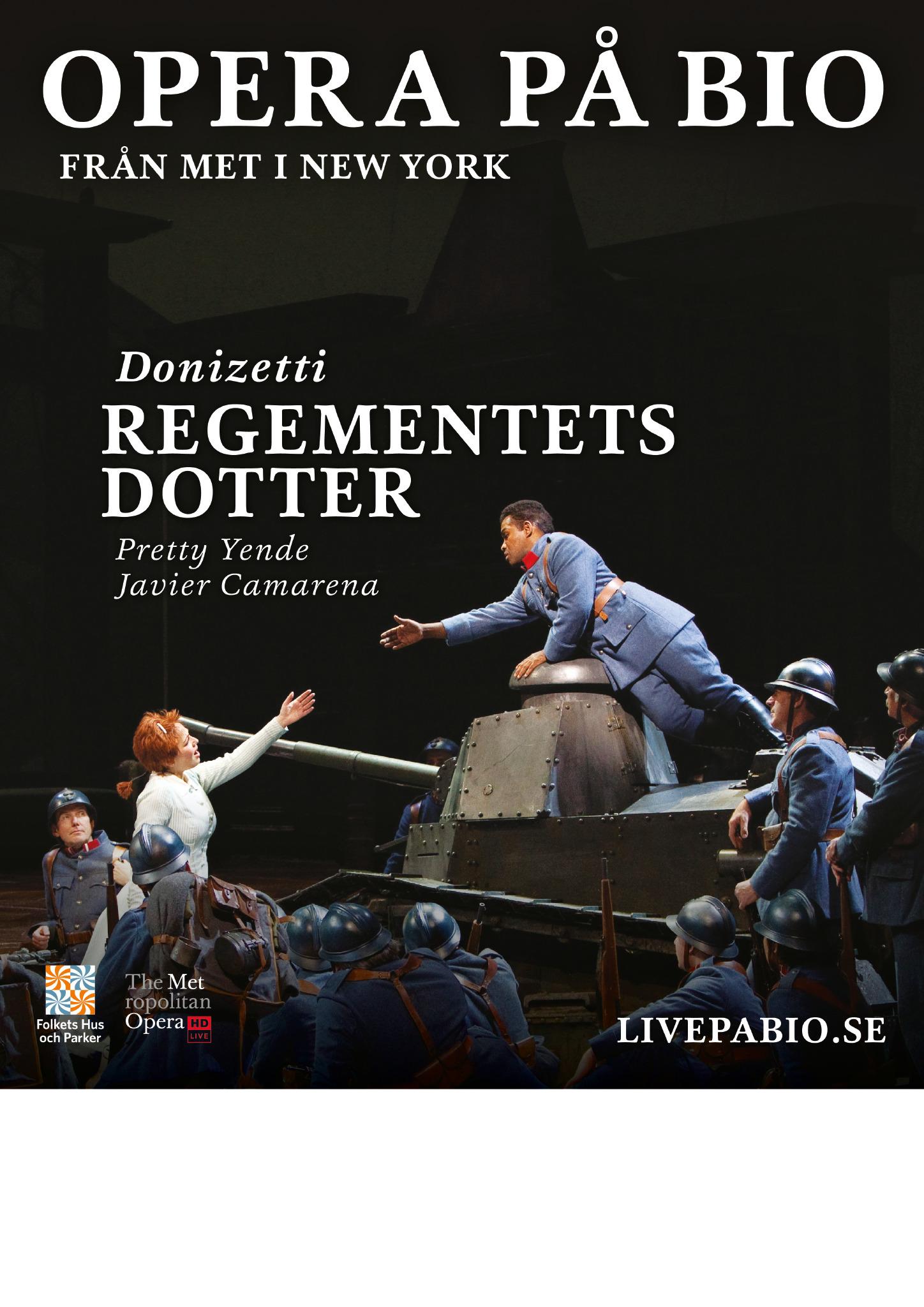 Opera på bioduken: Regementets dotter (Inspelad)